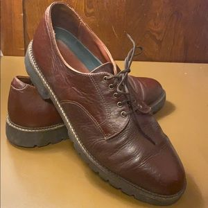 HS Trask American Made Leather Derby Shoes | 11.5